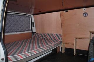 Aide Pour La Fabrication Dun Lit Peigne Au Dos Du Camion