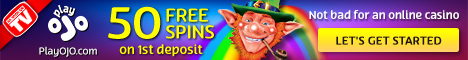 PlayOJO Casino 50 Free Spins Instant Withdrawals