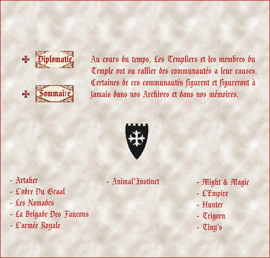 Alliances et paix avec les guildes