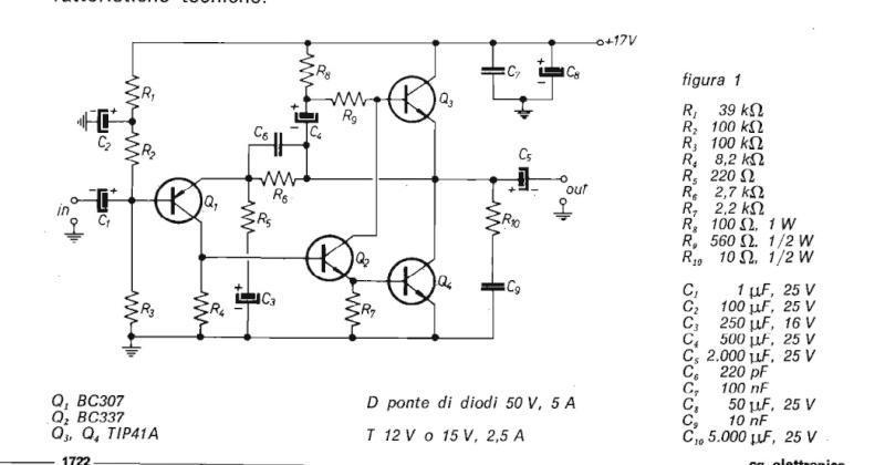 Schemi Elettrici Amplificatori Audio Con N : Schemi elettrici amplificatori audio