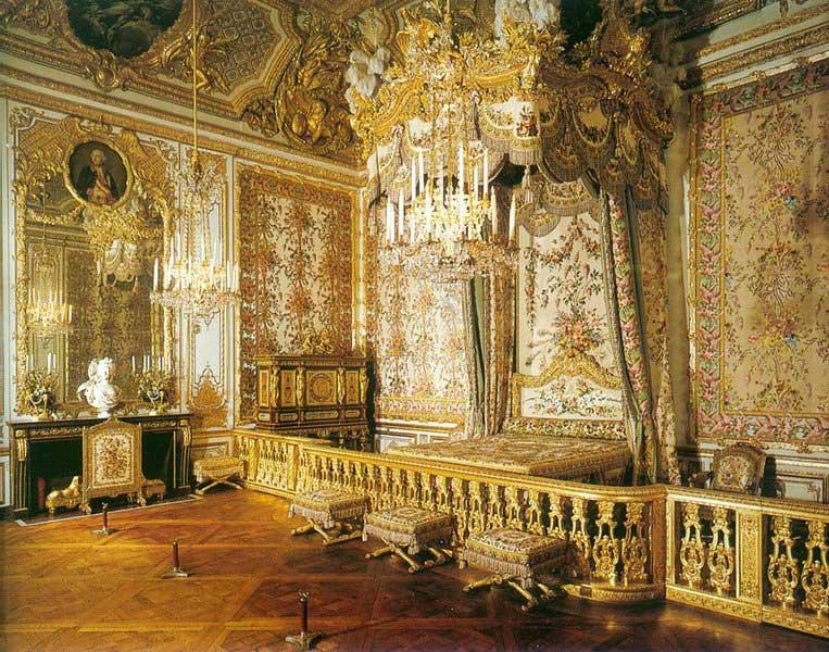 La chambre de la reine versailles for Chambre de la reine
