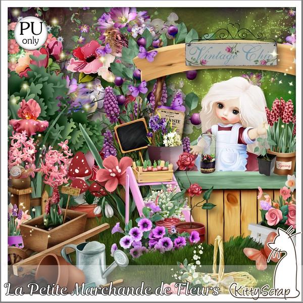 La petite marchande de fleurs de KittyScrap dans Avril kittys71