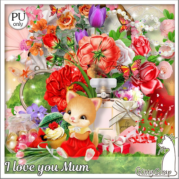 I love you Mum de Kittyscrap dans Mai kittys91