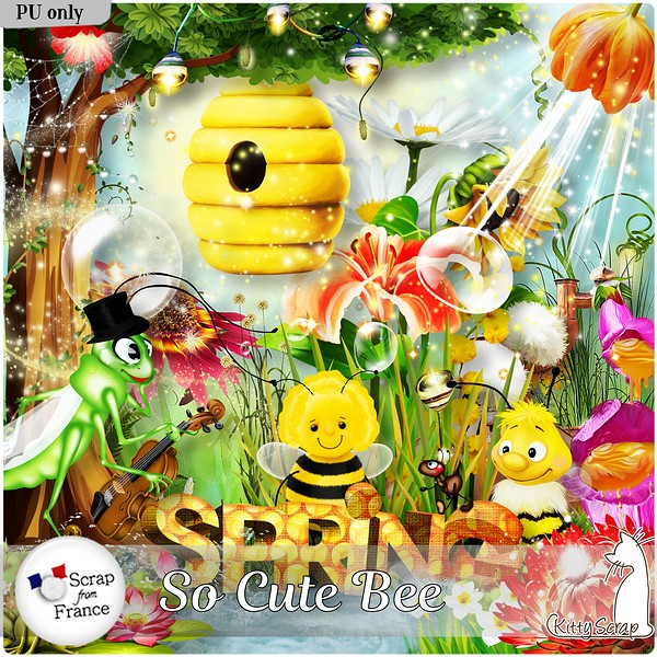 So cute bee de Kittyscrap dans Mars ks_soc10