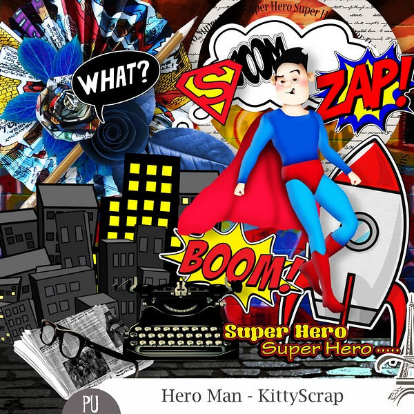 Hero man de Kittyscrap dans juin previ146
