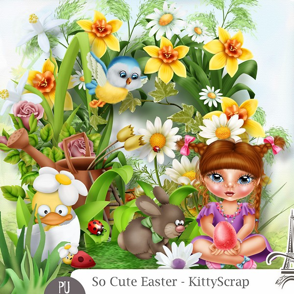 So cute easter de Kittyscrap dans Avril previe67