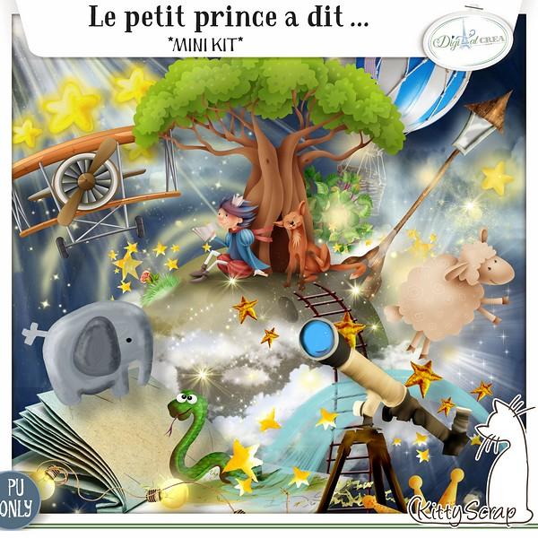 Le petit prince a dit... de Kittyscrap dans Avril previe69