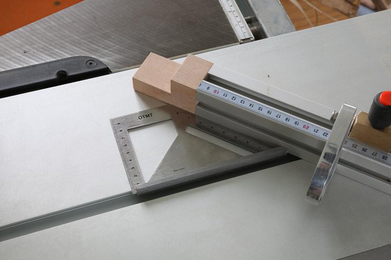 Reglage chariot raz de lame for Comment couper les plinthes en angle