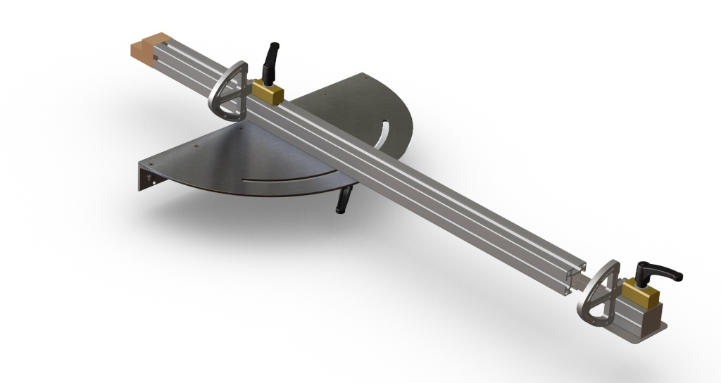 fabrication guide de coupe angulaire pour scie format. Black Bedroom Furniture Sets. Home Design Ideas
