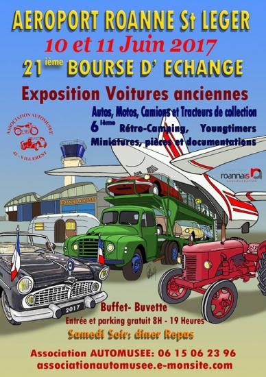 bourses, expos, rallyes, balades - juin 2017 - voitures anciennes