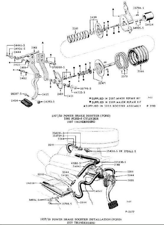 brake booster ford