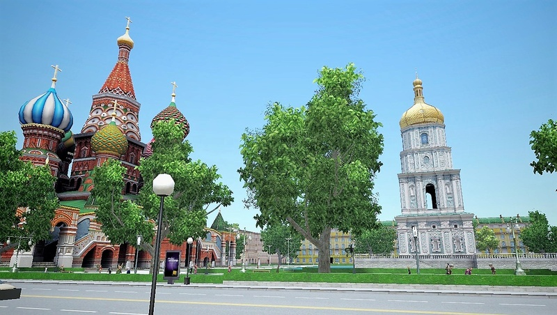 image Saint-Basile-le-Bienheureux et Vladimir