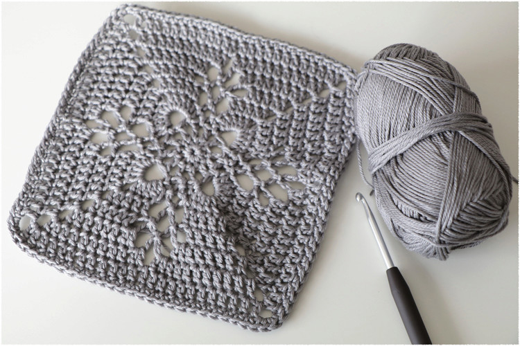 Carré Au Crochet Manouscrap