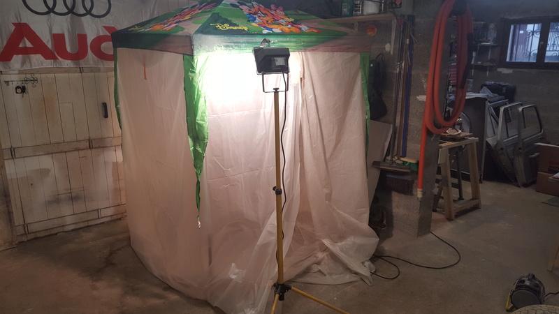 Cabane de peinture de mickey for Cabane minnie
