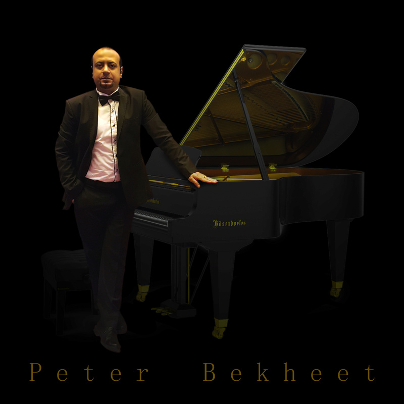 THE EGYPTIAN ARTIST PETER BEKHEET
