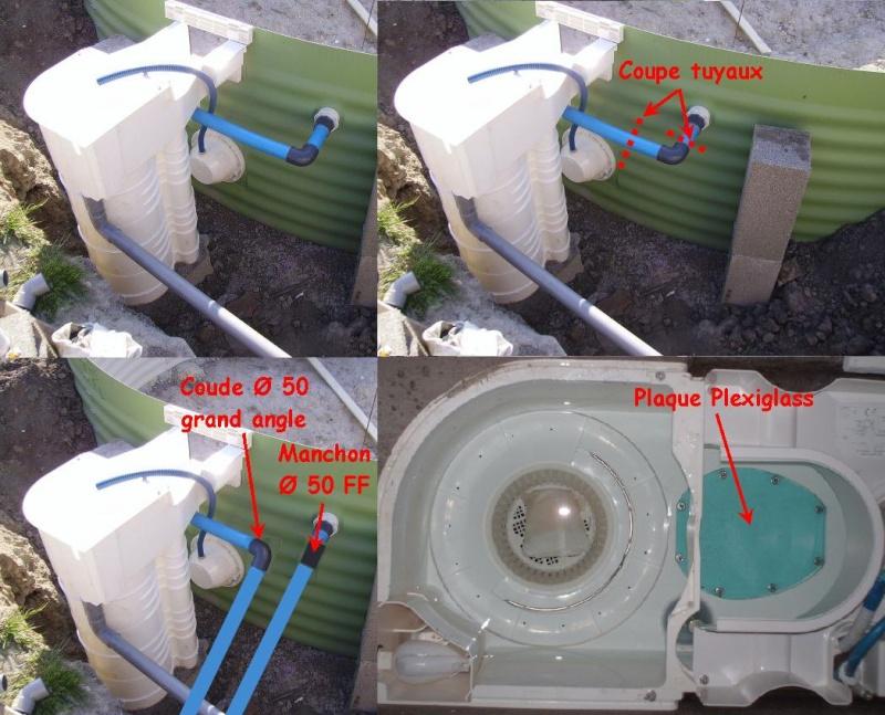Eau verte dans filtre easy bag waterair 15 messages for Branchement filtre piscine