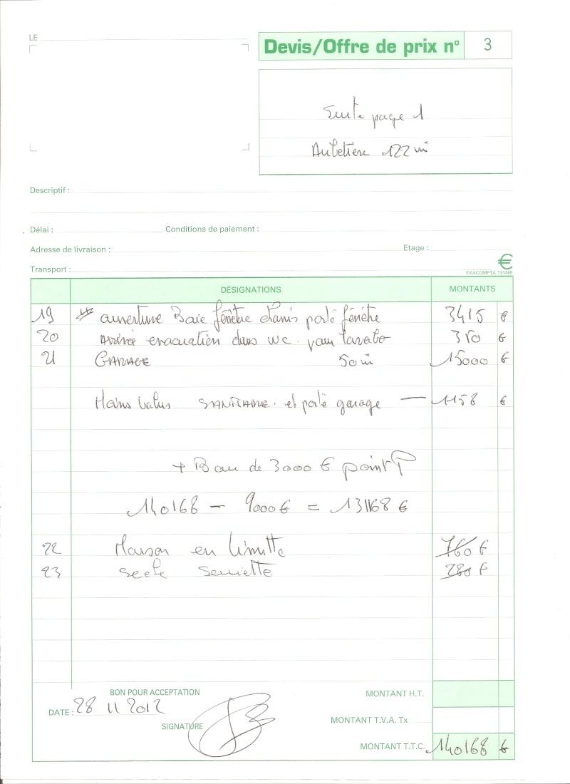 Travaux impos s par le constructeur 50 messages page 2 for Devis entretien annuel espace vert