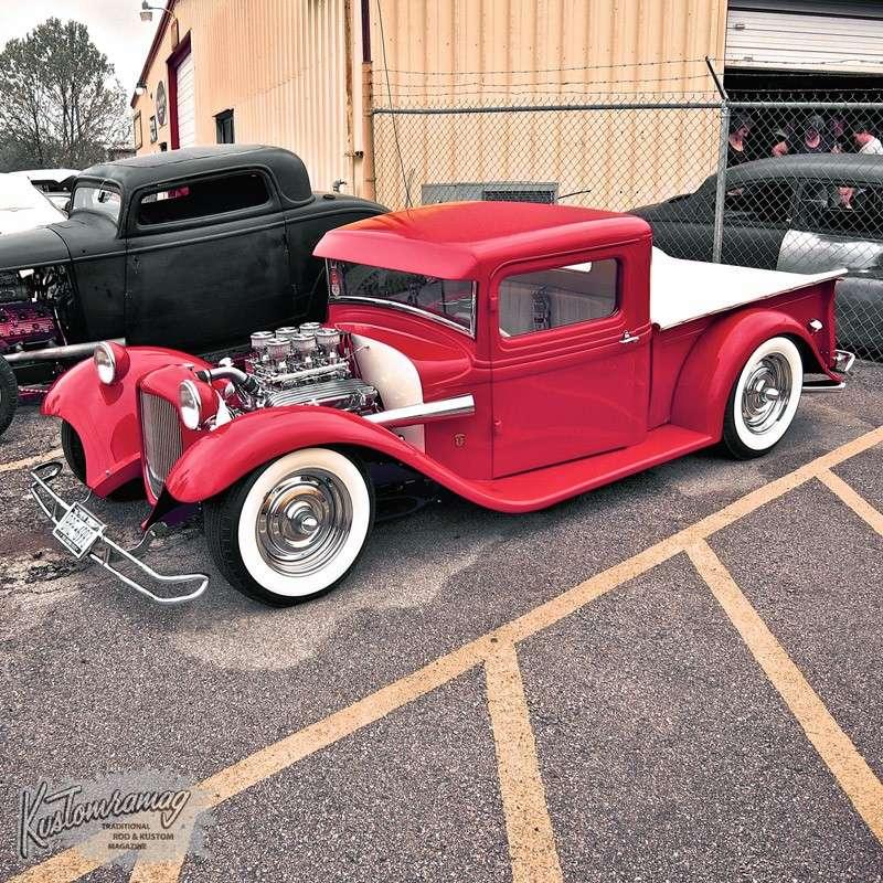 Kustom Kingdom Floorless 1932 Ford Hot Rod Choppit Custom