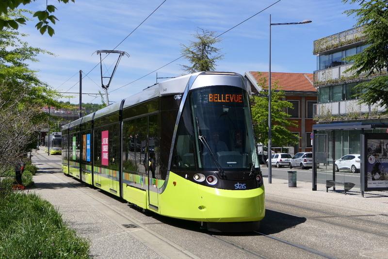 nouvelles rames pour le tramway de saint etienne le forum de lyon en lignes. Black Bedroom Furniture Sets. Home Design Ideas
