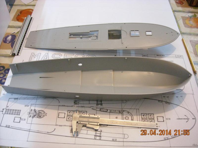 Mas 4 serie motoscafo armato silurante for Piano di costruzione online