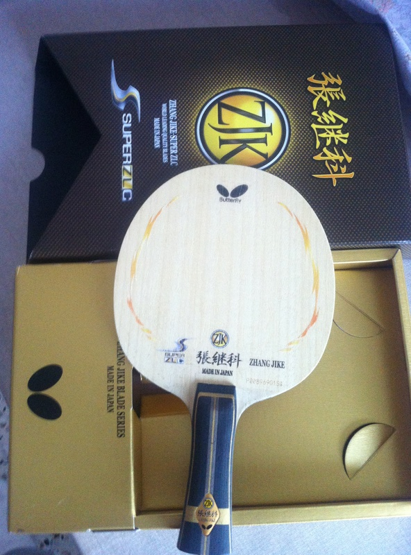 Vends bois butterfly le zhang jike super zlc  Ventes  Tennis de Tablecom