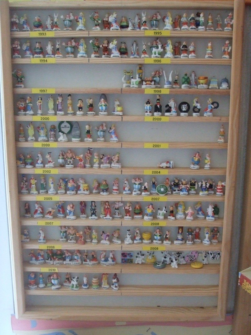 Ma collection sur le monde d 39 asterix for Meuble vitrine pour collection