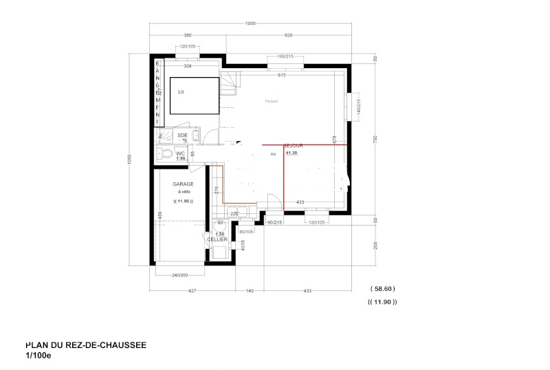 Servane1906 chambre parentale for Dimension chambre parentale