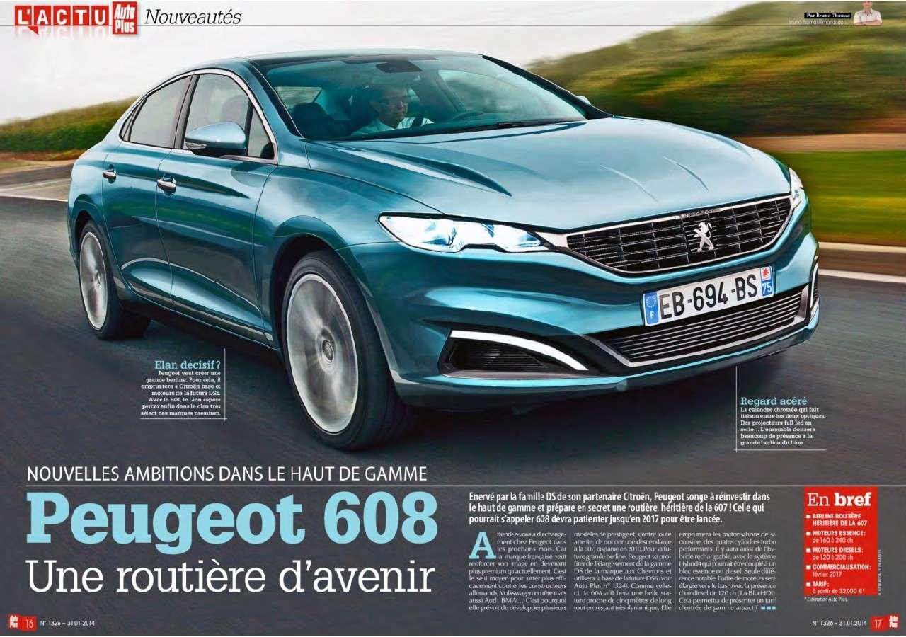 2017 Peugeot 608