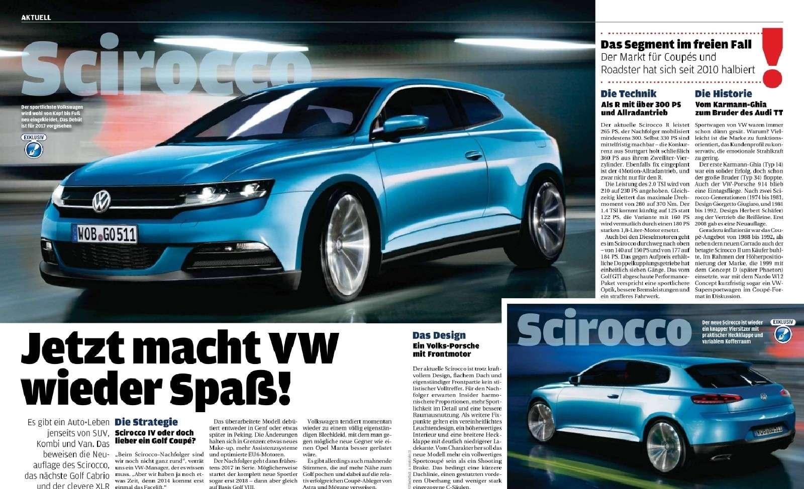 2017 - [Volkswagen] Scirocco IV