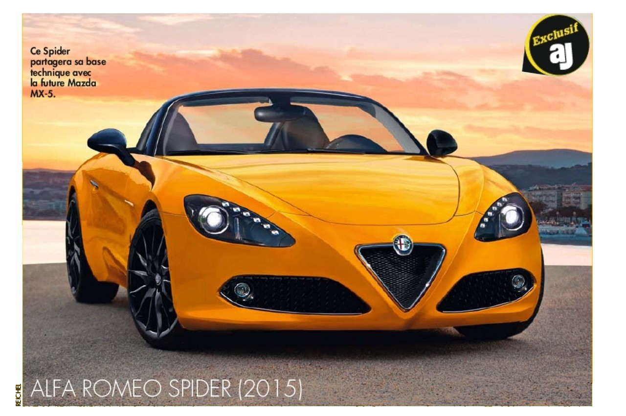 2015 alfa romeo duetto roadster page 4. Black Bedroom Furniture Sets. Home Design Ideas