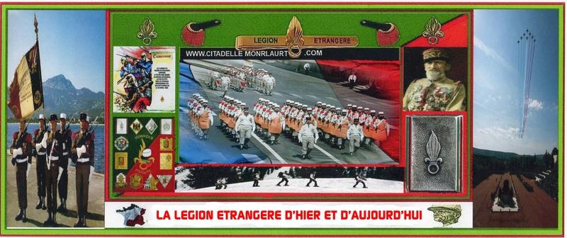LA LEGION ETRANGERE D'HIER ET D'AUJOURD'HUI