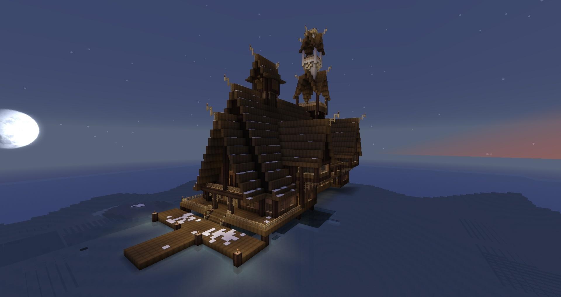 comment construire esgaroth