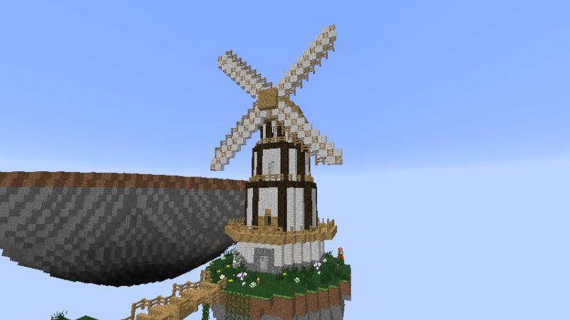 Freebuild valinor la cit volante for Maison classique minecraft