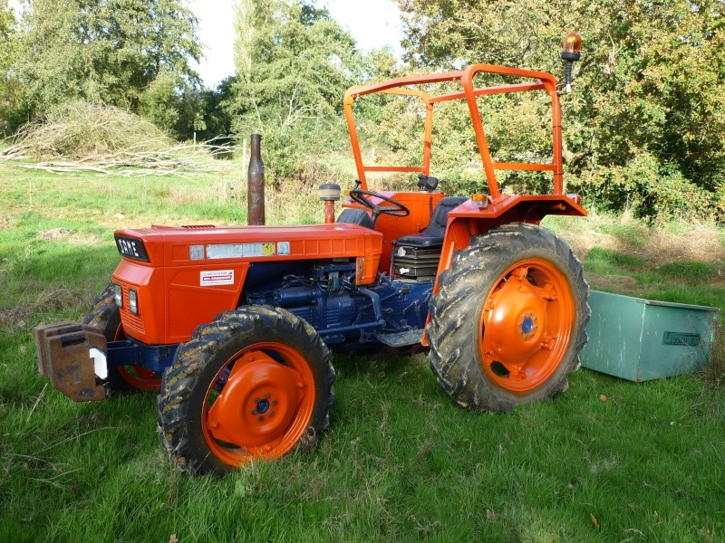Tracteur same minitauro 60