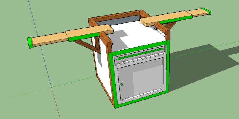 aide sur sketchup pour plan de meuble. Black Bedroom Furniture Sets. Home Design Ideas