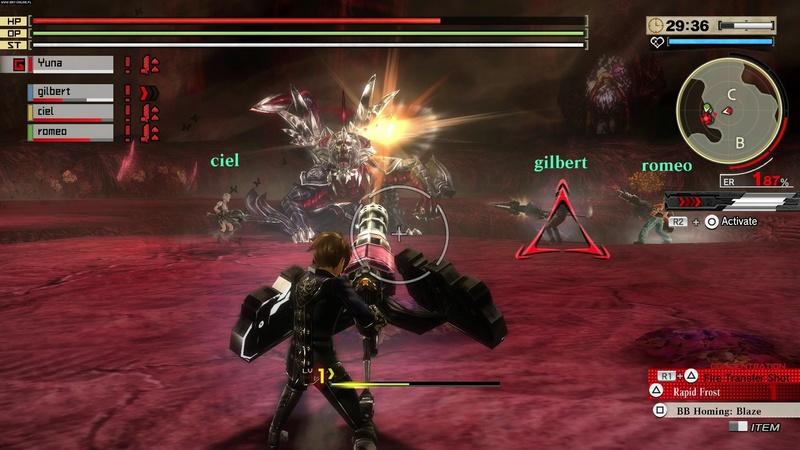 لعبة الاكشن والمغامرة والقتال الرائعة جدا God Eater Rage Burst 2017 Excellence Repack 5.33 GB
