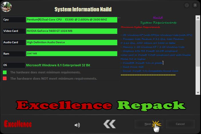 لعبة السرعة والسباقات الجميلة جدا Nail'd Excellence Repack 1.3.GB