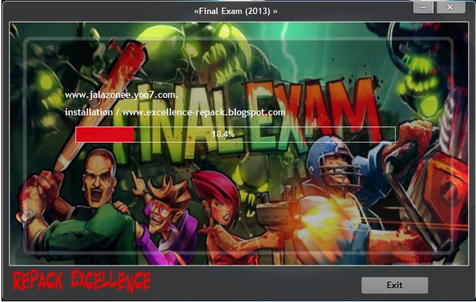 حصريا لعبة الاكشن الاكثر من رائعة والمنتظرة Final Exam 2013 نسخة مكركة وكاملة