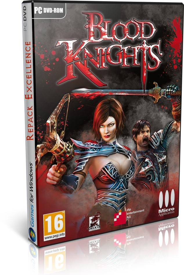 حصريا لعبة الاكشن والمغامرة الرائعة والمنتظرة Blood Knights 2013 Repack Excellence