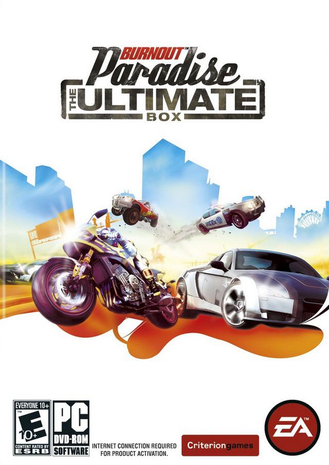 اخطر واجمل العاب السباقات والمطاردات الرهيبة Burnout Paradise The Ultimate Box Excellence
