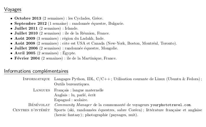 canada questions concernant le cv pour le dossier du pvt canada  jusqu u0026 39  u00e0 2013
