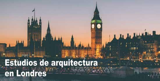 lista estudios de arquitectura de londres
