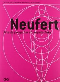 Portada caratula del libro Ernst Neufert:Arte de proyectar en arquitectura