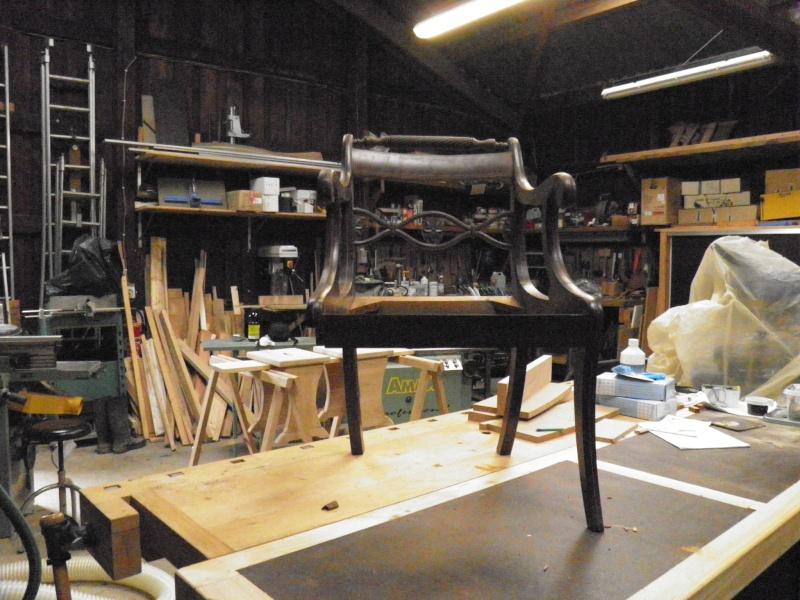 restauration d 39 une carcasse de fauteuil. Black Bedroom Furniture Sets. Home Design Ideas