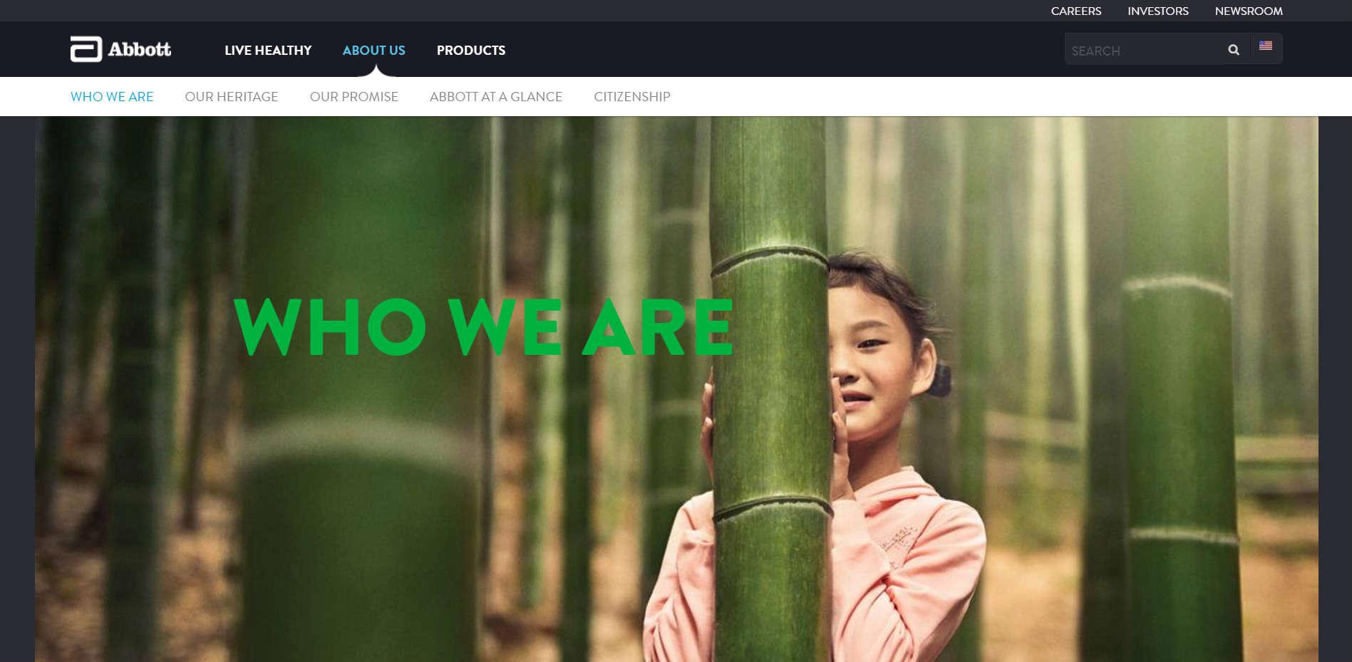 Уеб сайт на Who We Are
