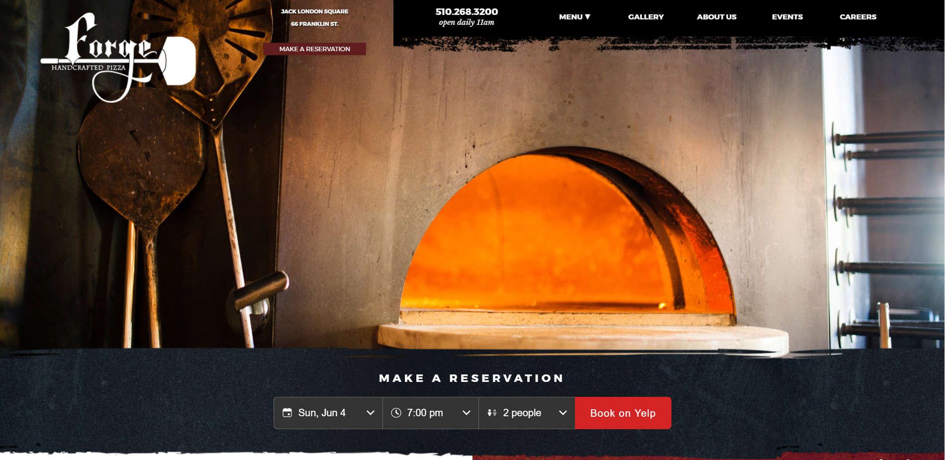 Уеб сайт на Forge