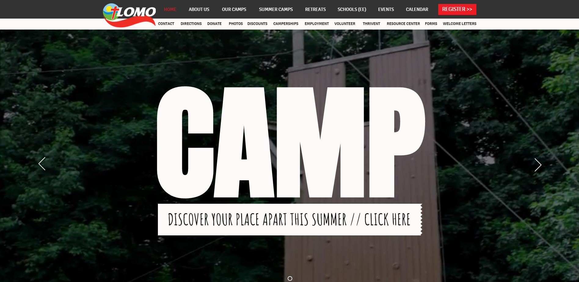 Уеб сайт на Lomo