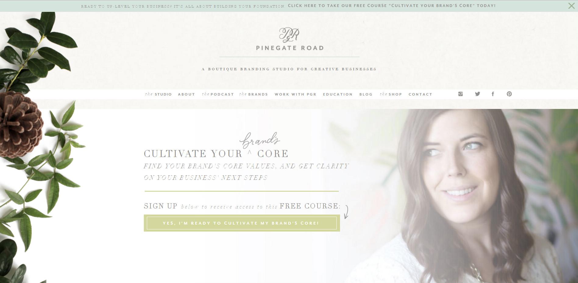 Уеб сайт на Pinegate road
