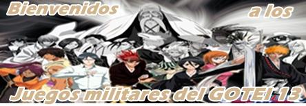 JUEGOS MILITARES. GOTEI-13.