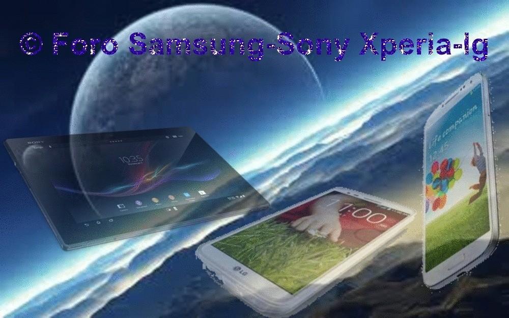 FORO SAMSUNG GALAXY-SONY XPERIA-LG OPTIMUS